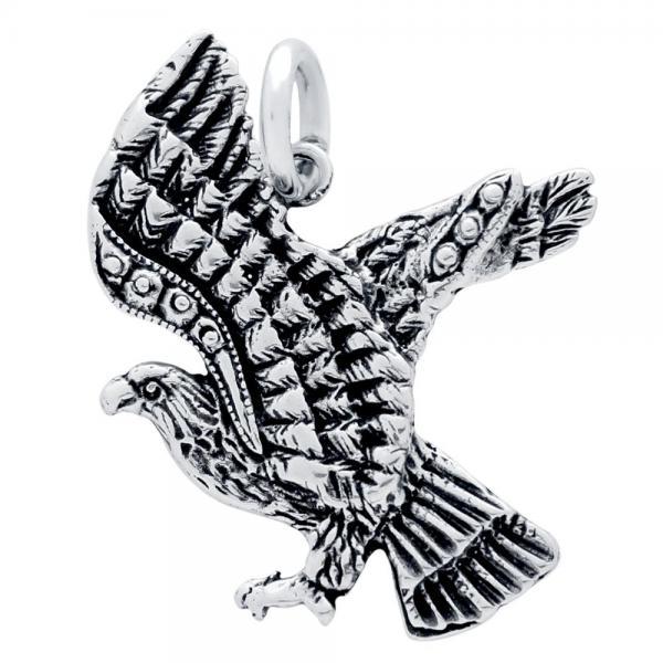 Pandantiv argint 925 in forma de vultur - Be Daring 0