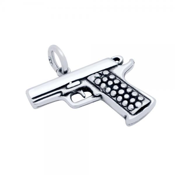 Pandantiv argint 925 pistol 0