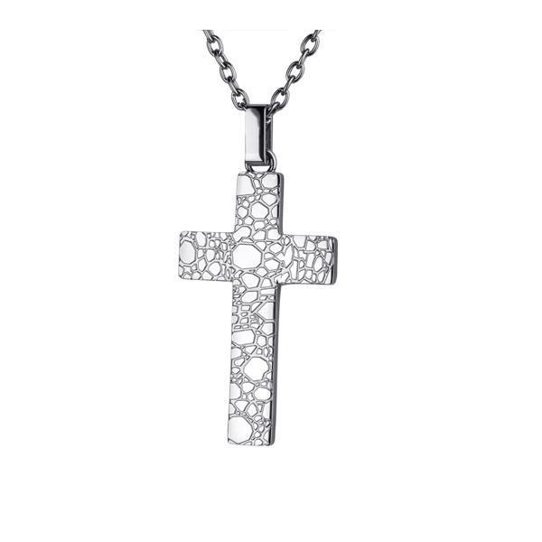 Pandantiv cruce din otel inox 0