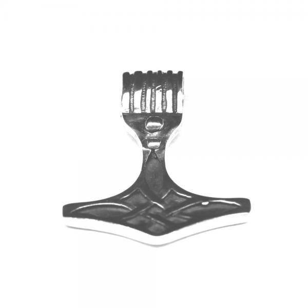 Pandantiv din argint 925 Ciocanul lui Thor cu motive celtice 0