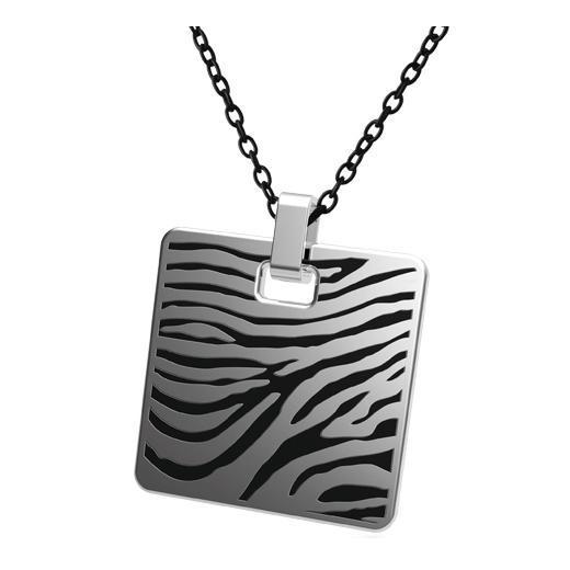 Pandantiv otel inox model zebra 0
