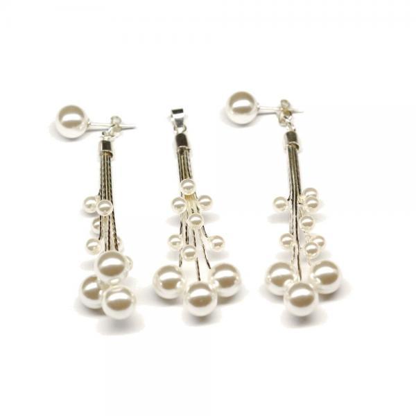 Set argint 925 cu perle 1