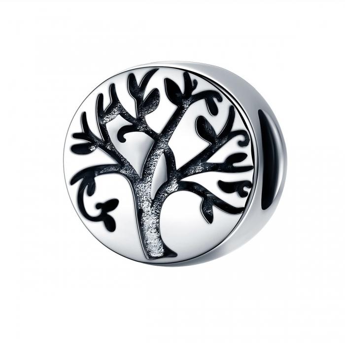 Pandantiv argint 925 cu copacul vietii cu aspect vintage - Be Nature  PST0109 [0]
