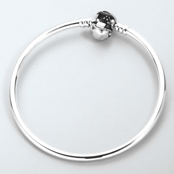 Bratara argint 925 cu floare si zirconii albe - Be Elegant BST0009 [2]