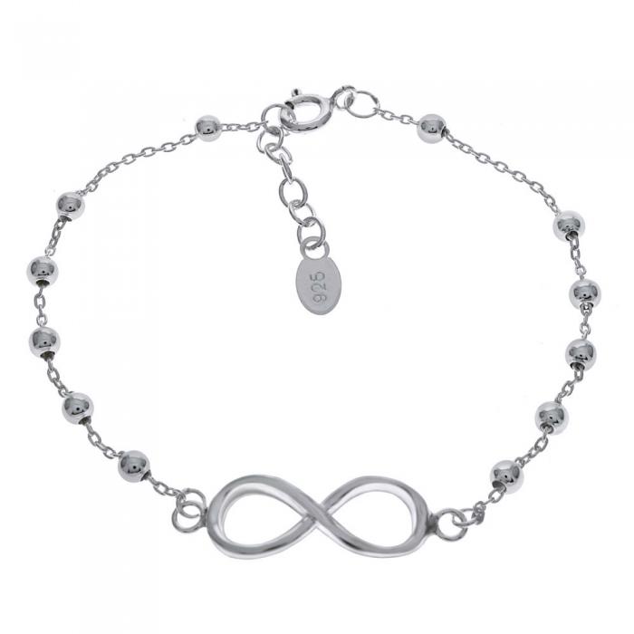 Bratara argint 925 cu simbolul infinit - Infinite You BSX0264 0