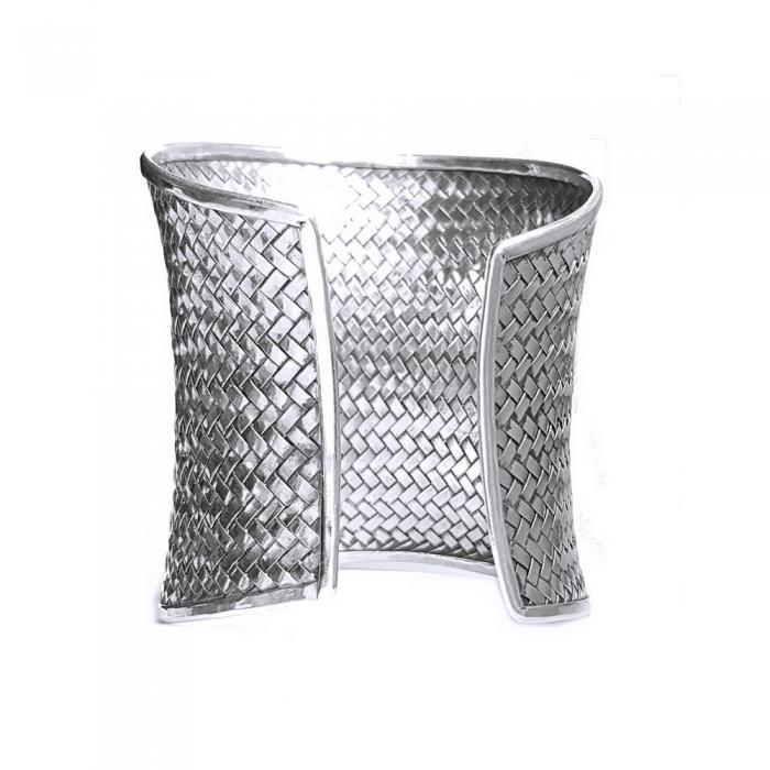 Bratara argint 925 impletita, Batsheeba 2