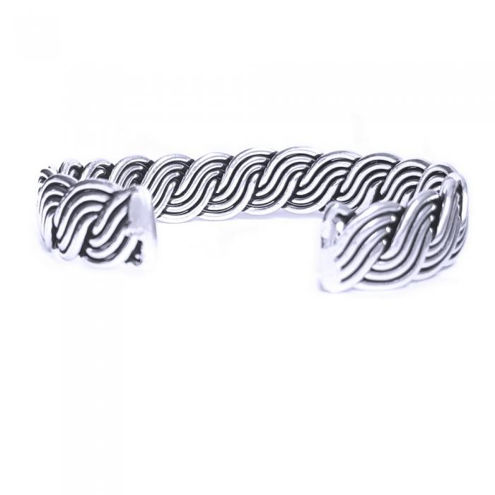 Bratara argint 925 impletita, Brianna 1
