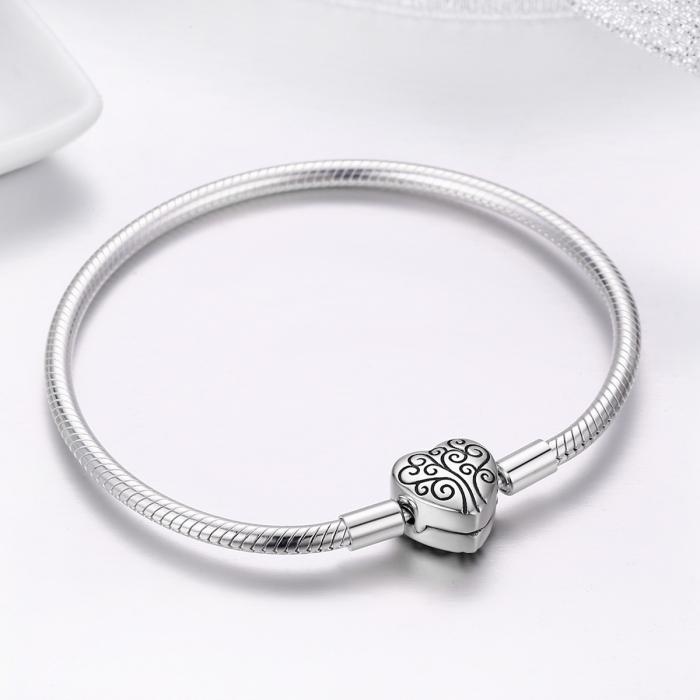 Bratara argint 925 inimioara cu copacul vietii - Be in Love BST0036 3