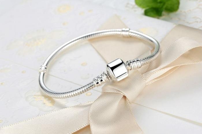 Bratara argint 925 pentru talismane - Be Elegant BST0013 1