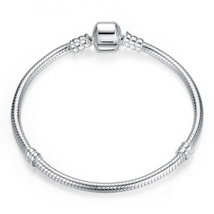 Bratara argint 925 pentru talismane - Be Elegant BST0013 3