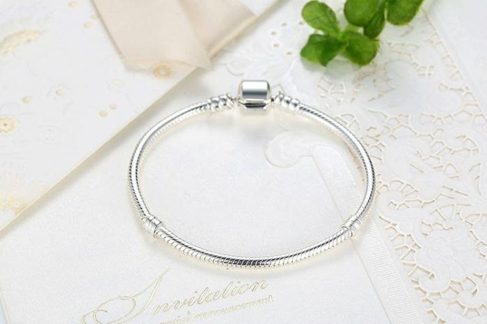 Bratara argint 925 pentru talismane - Be Elegant BST0013 2