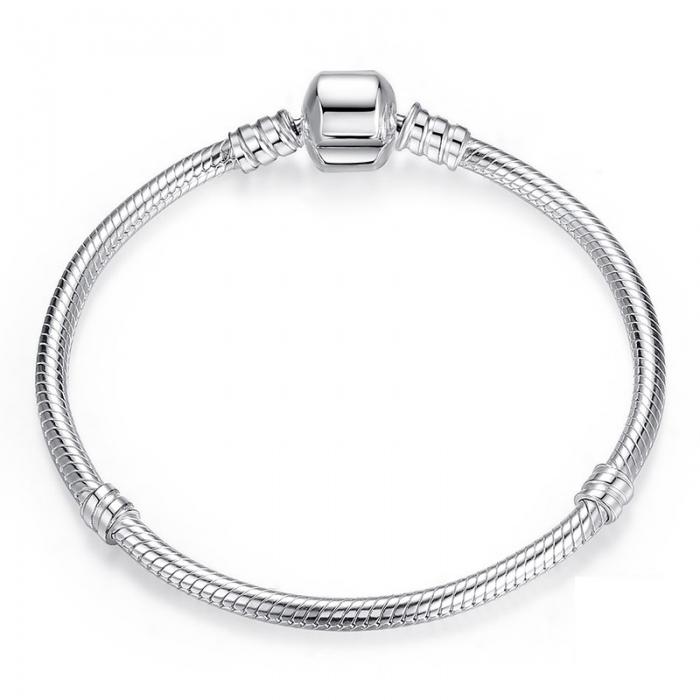Bratara argint 925 pentru talismane - Be Elegant BST0013 0