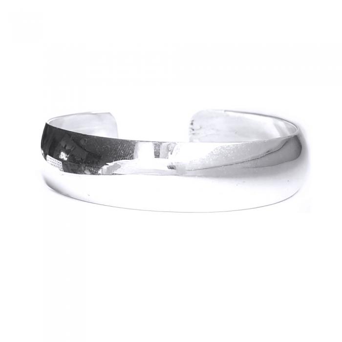 Bratara argint 925 simpla, Leah 1