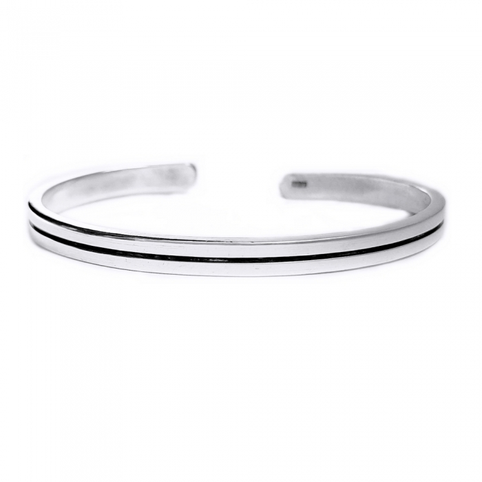 Bratara argint 925 simpla, Minimal 0