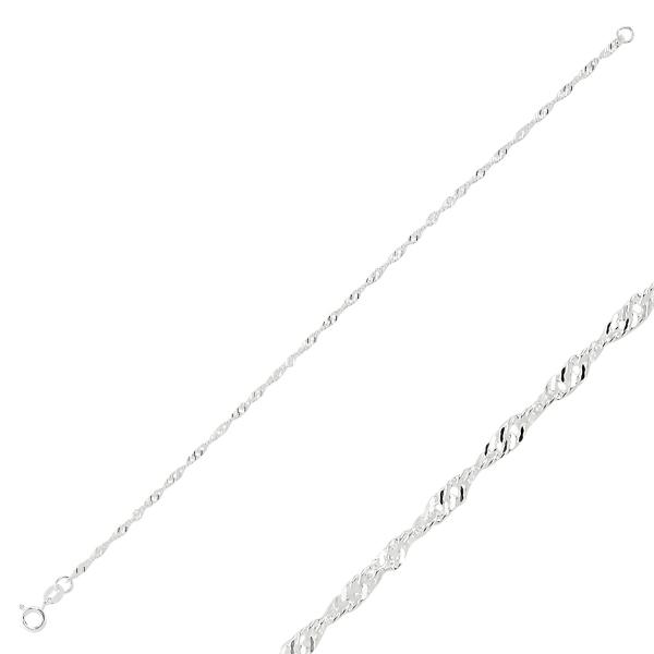 Bratara argint 925 Singapore, Latime: 1,70 mm - BTU0145 0