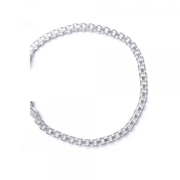 Bratara eleganta argint 925 model lant BRA0164 1