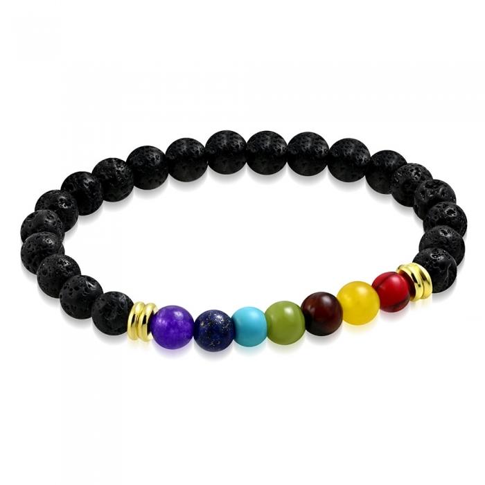 Bratara 7 Chakre - Meditation Bracelet BSL3331 0
