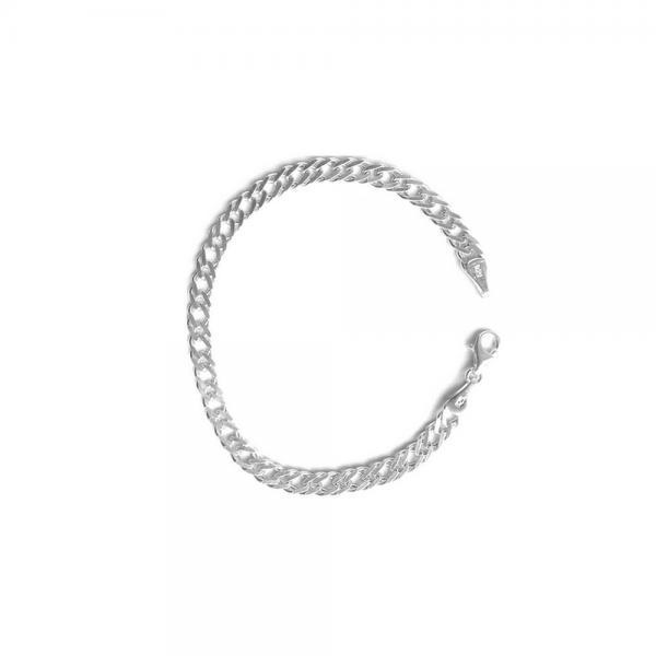 Bratara eleganta din argint 925 model lant rambo BRA0121 0