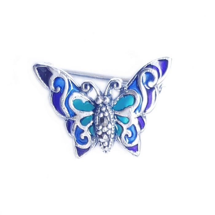 Brosa argint 925 cu fluture 0