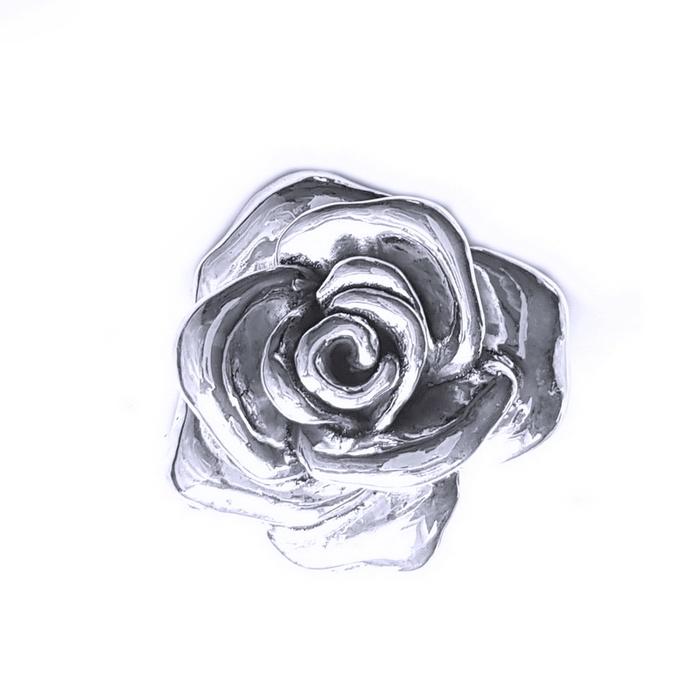 Pandantiv Brosa argint 925 trandafir, Rose 0