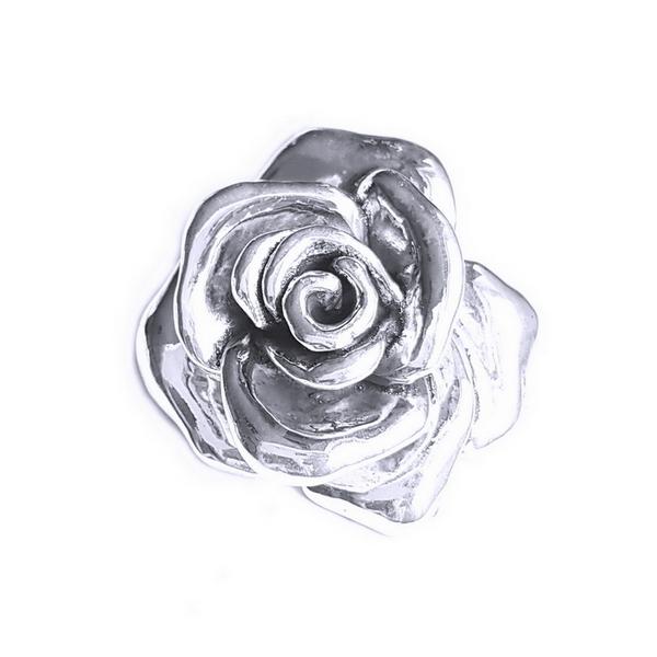 Pandantiv Brosa argint 925 trandafir, Rose 2