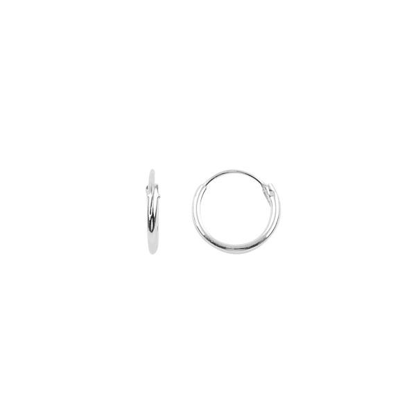 Cercei agint simpli cu cerc de 10 mm [0]