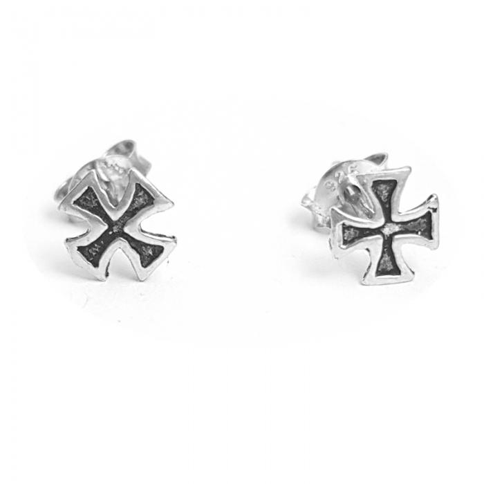 Cercei argint 925 cu cruciulite CER0703 0