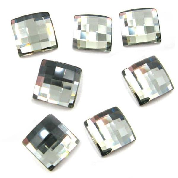 Cercei argint 925 cu swarovski elements culoare Black Diamond 1