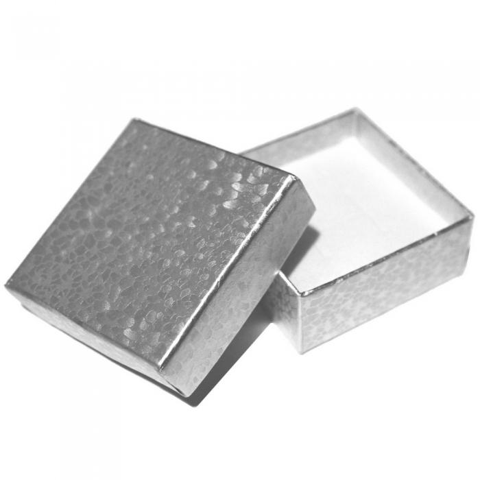 Cercei argint 925 Israel floare cu granat - Be Nature EPO0031 2