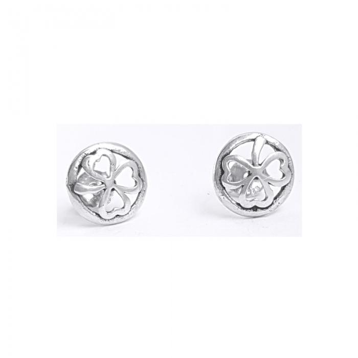 Cercei argint 925 trifoi CER0790 0