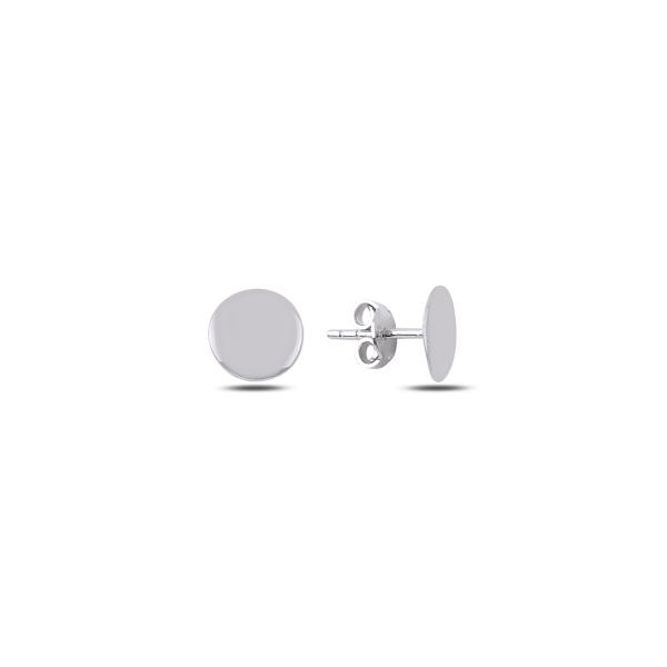 Cercei rotunzi argint 925 rodiat cu banuti - Be Authentic ETU0067 0