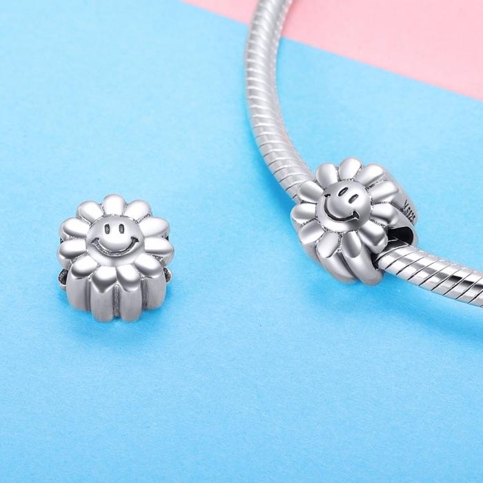 Charm argint 925 cu floarea soarelui zambitoare - Be Nature PST0150 [2]