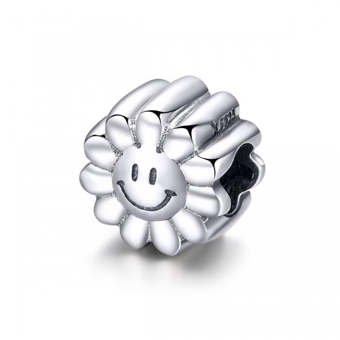 Charm argint 925 cu floarea soarelui zambitoare - Be Nature PST0150 [0]
