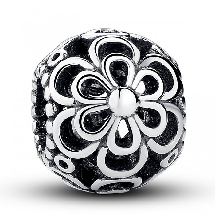 Charm argint 925 cu floricele - Be Nature PST0026 0