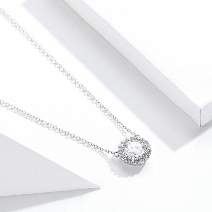 Colier argint cu zirconii [4]