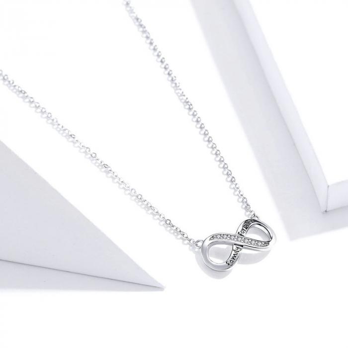 Colier argint Dragoste Infinita - family forever [3]