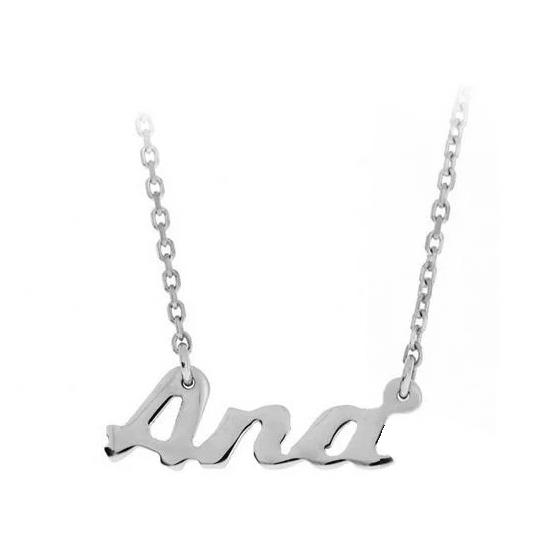 Colier din argint 925 personalizat Ana 1