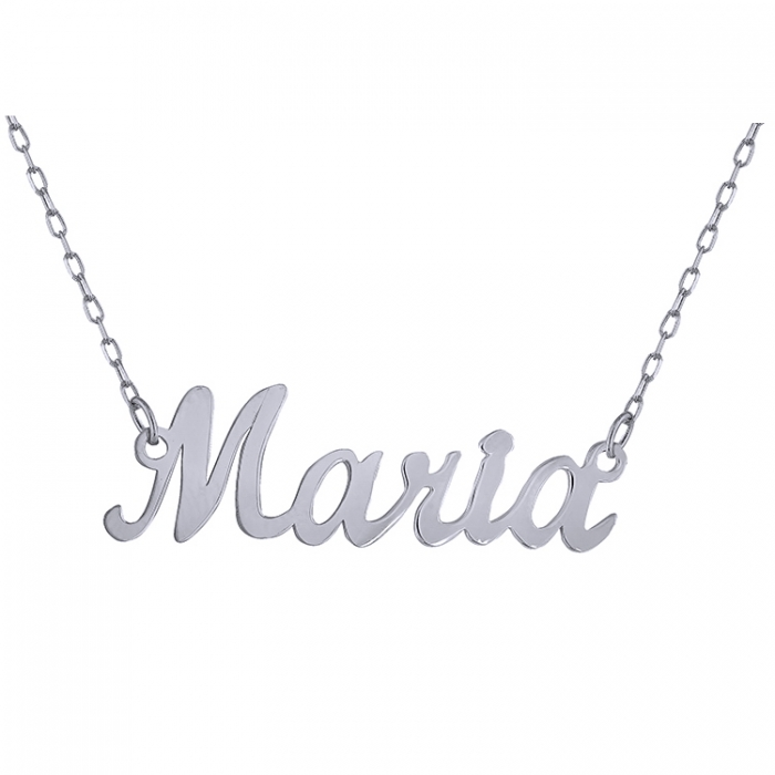 Colier din argint 925 personalizat Maria 0