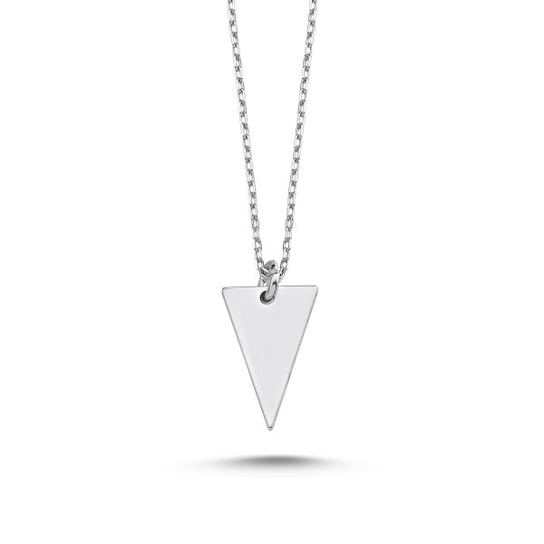 Colier minimalist din argint 925 rodiat - Be Elegant CTU0074 0