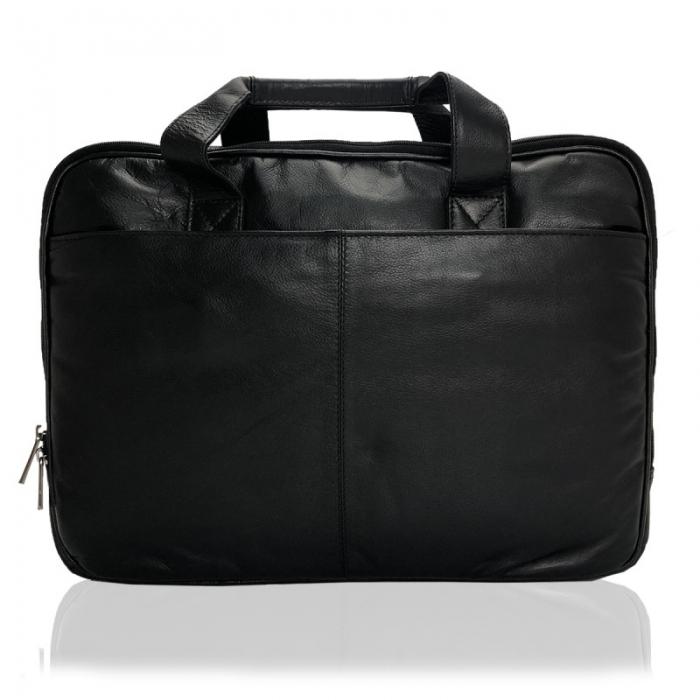 Geanta laptop din piele naturala de calitate GEAZ001 7