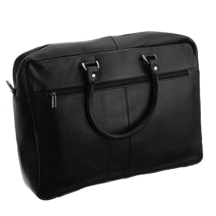 Geanta laptop din piele naturala de calitate GEAG100 8