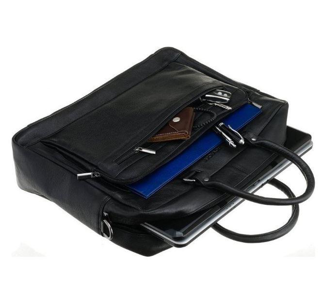 Geanta laptop din piele naturala de calitate GEAG100 7