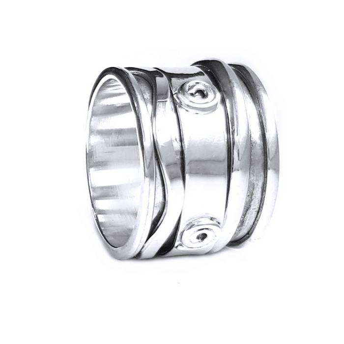 Inel argint 925 Antistres, Mantra 0
