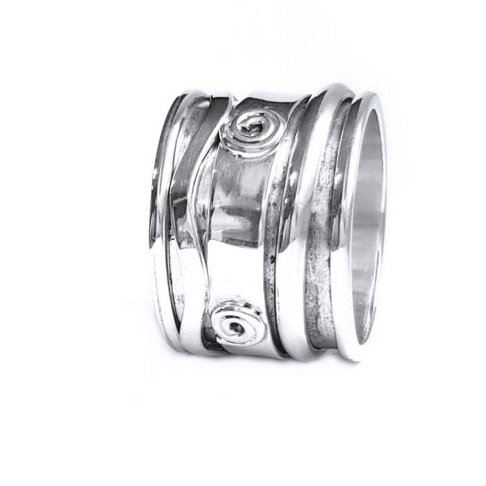 Inel argint 925 Antistres, Mantra 2