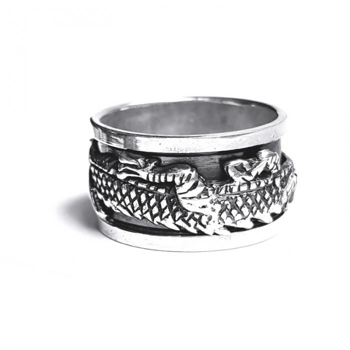 Inel argint 925 Antistres 2
