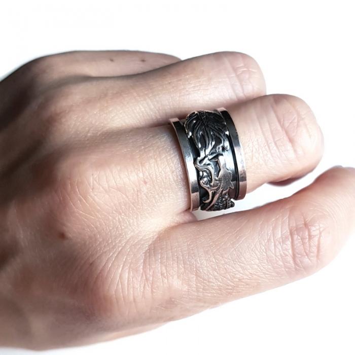 Inel argint 925 Antistres 3
