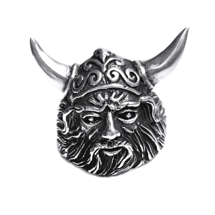 Inel argint 925 cap de Centaur 0
