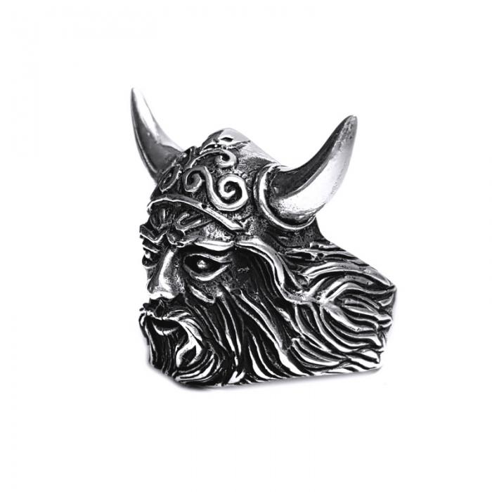 Inel argint 925 cap de Centaur 2