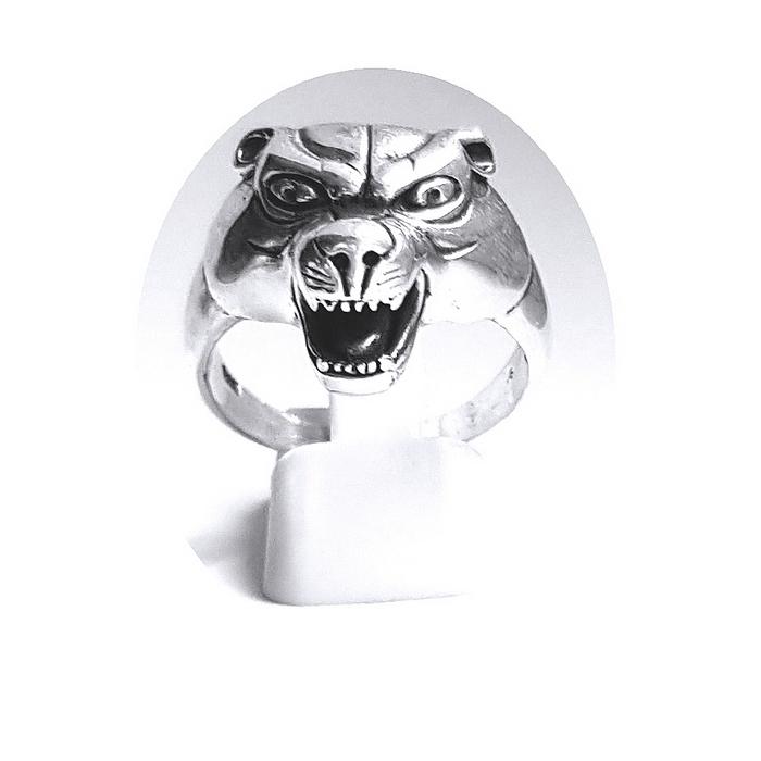 Inel argint 925 cap de pantera 1