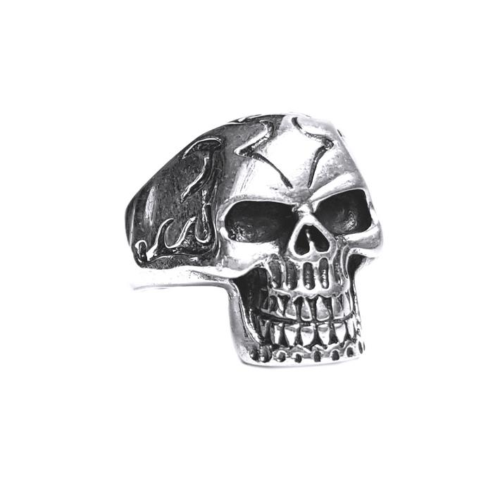 Inel argint 925 cu craniu 1